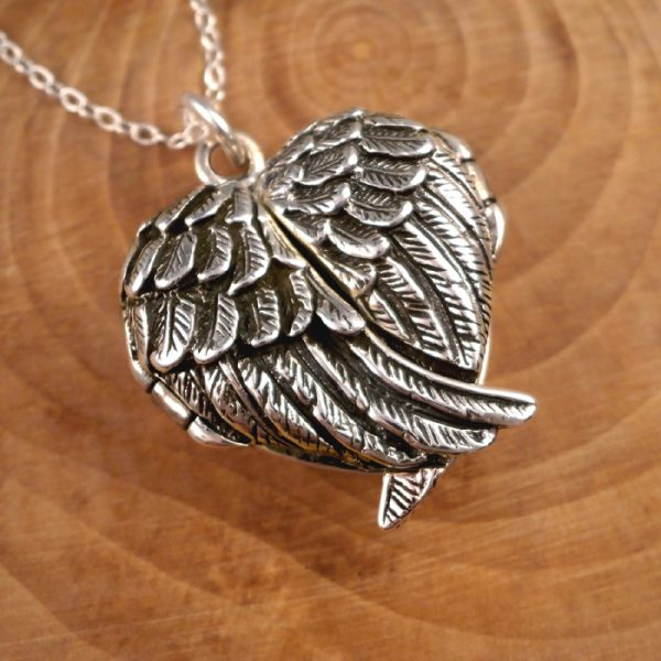 angel wings locket swj117 2