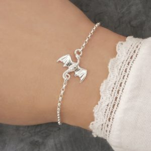 sterling silver dragon bracelet swj211