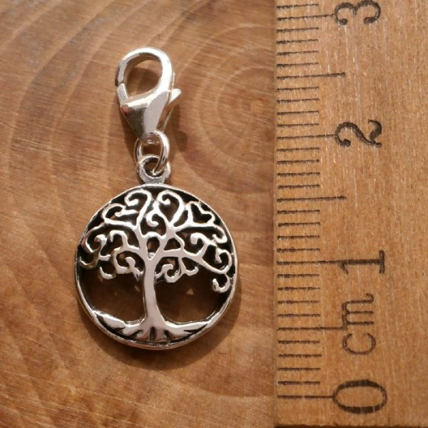 sterling silver tree of life clip on charm swj107 2