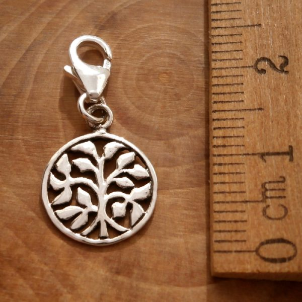 sterling silver tree of life clip on charm swj109 2