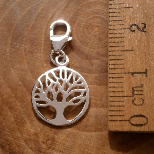 sterling silver tree of life clip on charm swj96 2