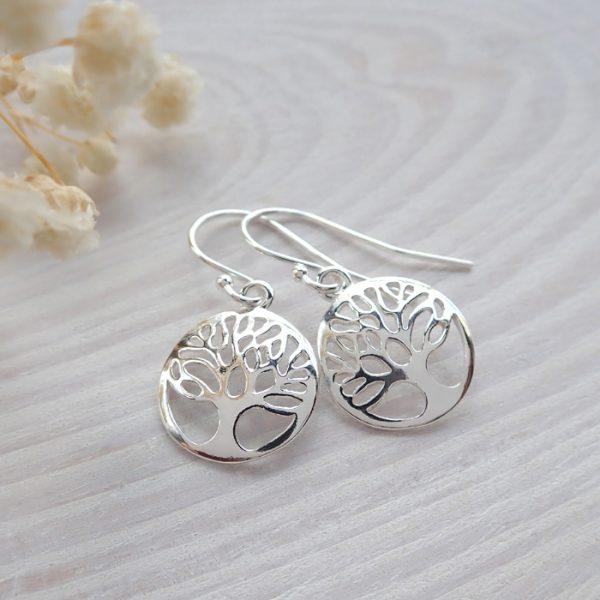 sterling silver tree of life earrings swje119 3