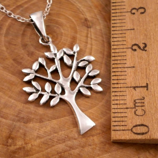 sterling silver tree of life necklace swj17 2