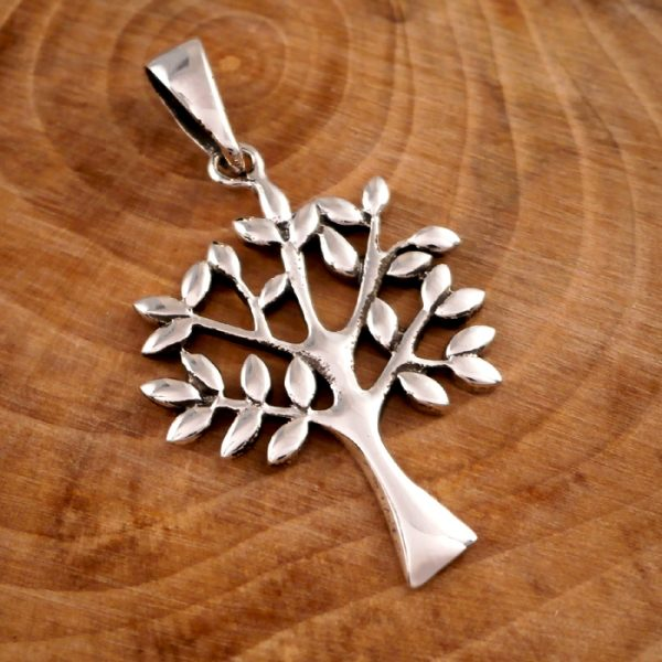 sterling silver tree of life necklace swj17 4
