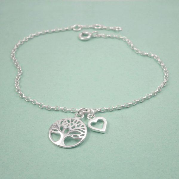 tree of life bracelet sterling silver swj206 2